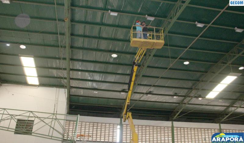 Imagem destaque notícia Ginásio JK passa por manutenção na parte elétrica