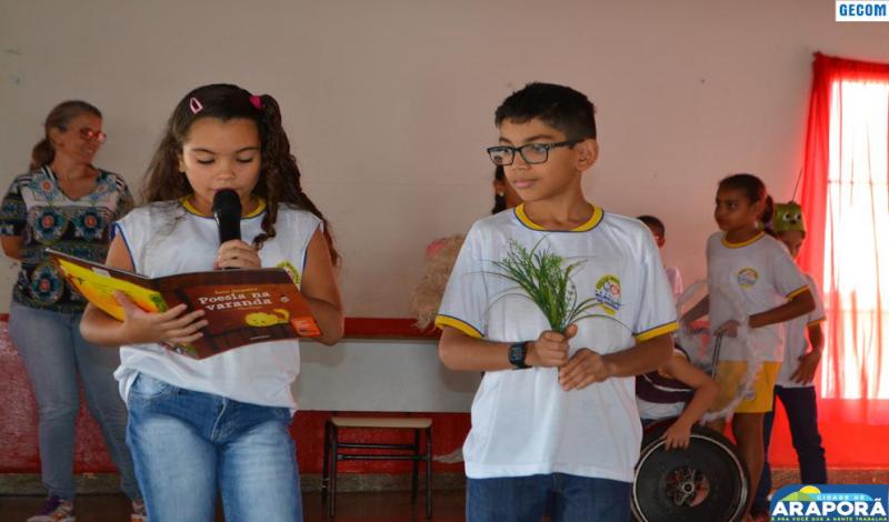 Imagem destaque notícia Escola Prefeito Wilmar comemora Dia do Livro Infantil com leitura e contação de histórias
