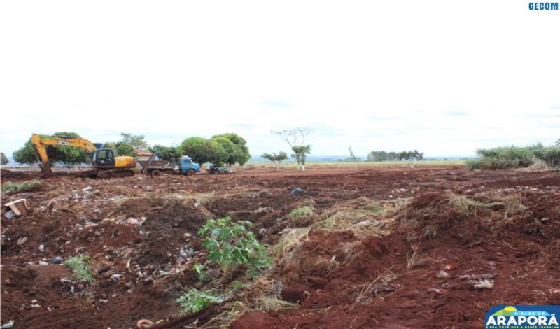 Imagem destaque notícia Araporã começa a construir parque sanitário