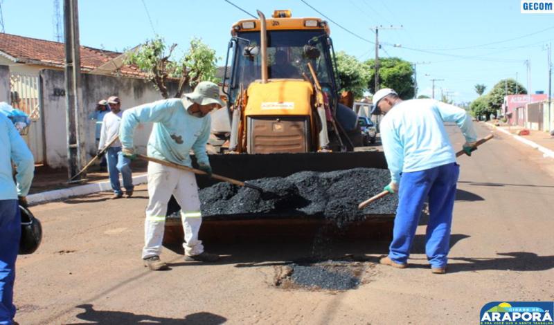 Imagem destaque notícia Prefeitura prepara a cidade para o seu Aniversário