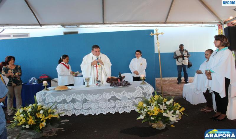 Imagem destaque notícia Missa em ação de graças abre programação do aniversário de Araporã
