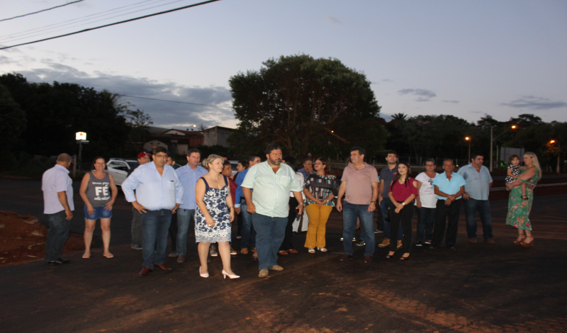 Imagem destaque notícia Visita às obras do Córrego Alvorada fez parte da programação do aniversário de Araporã