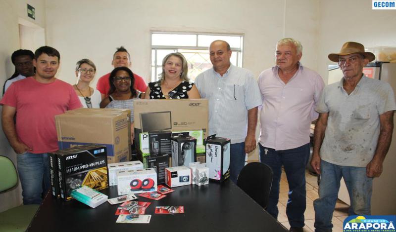Imagem destaque notícia Secretaria de Meio Ambiente recebe doações do MP e Funepu