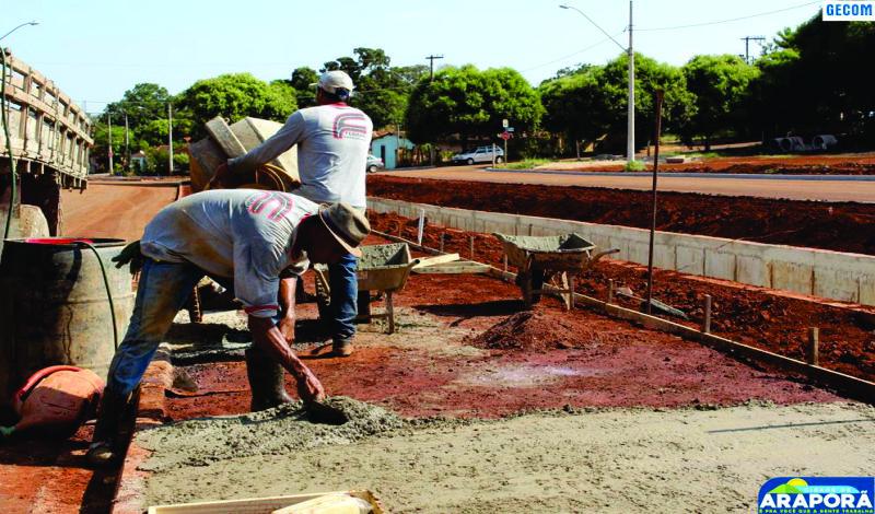 Imagem destaque notícia Obras da Avenida Afonso Pena e Córrego Alvorada a todo vapor