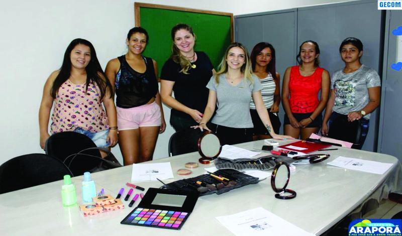 Imagem destaque notícia Cursos oferecidos em Araporã capacitam jovens e adultos para o mercado de trabalho