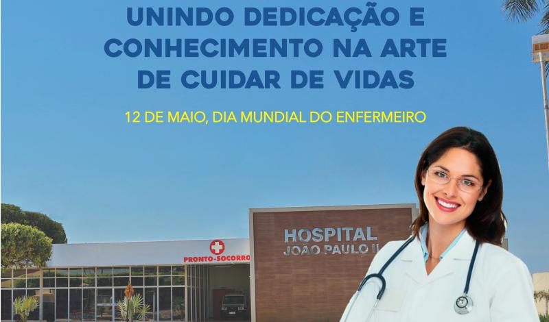 Imagem destaque notícia 12 DE MAIO, DIA MUNDIAL DO ENFERMEIRO