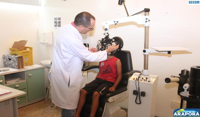 Imagem destaque notícia Mutirão de oftalmologia atende 74 pacientes
