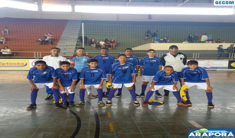 Imagem destaque notícia Araporã sediará jogos da 2ª Copa Pontal Triângulo de Futsal Infantil