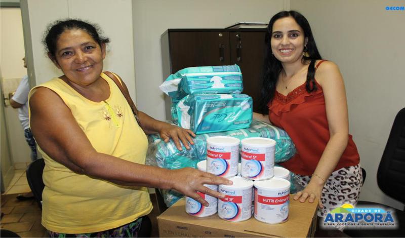 Imagem destaque notícia PMA e SMS entregam medicamentos, leites especiais e fraldas