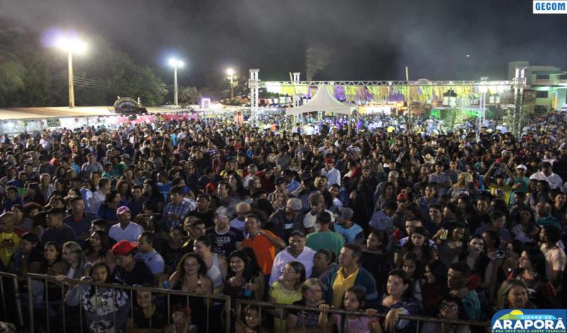 Imagem destaque notícia Juninão da Alegria recebe grande público em Araporã para dois dias de festa