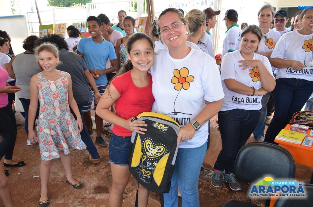 Imagem destaque notícia Araporã faz bonito e abraça campanha de combate ao abuso e exploração sexual de crianças e adolescentes