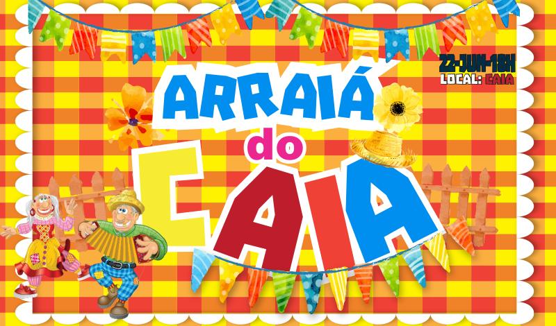 Imagem destaque notícia Caia prepara grande festança junina