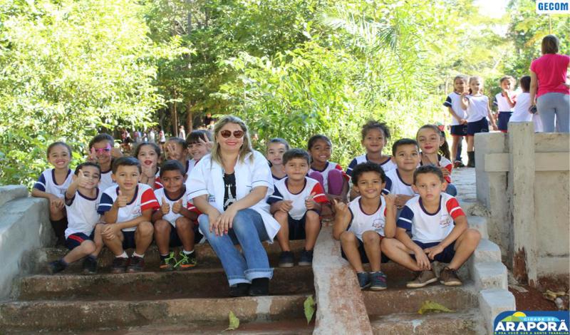 Imagem destaque notícia Passeio ecológico encerra atividades de conscientização ambiental com alunos da Escola Lápis de Cor