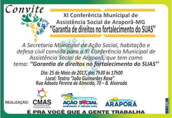 Imagem destaque notícia Conferência municipal vai discutir políticas de assistência social