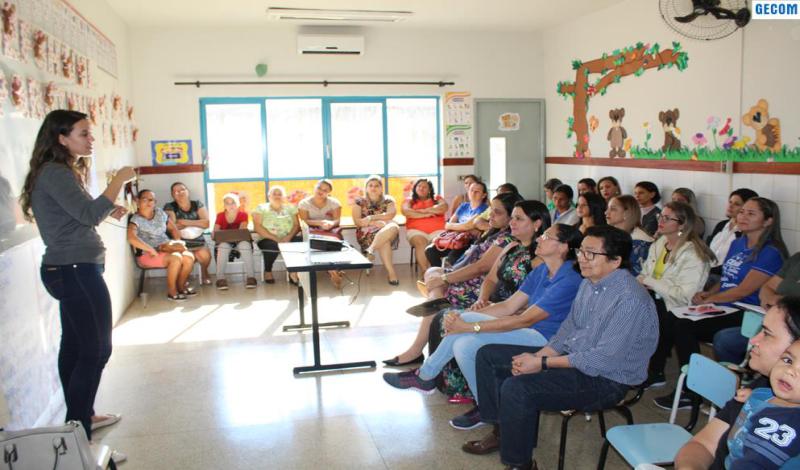 Imagem destaque notícia SAÚDE BUCAL CAPACITA SERVIDORES DO CEMEI EROLTILDES SILVA MENEZES