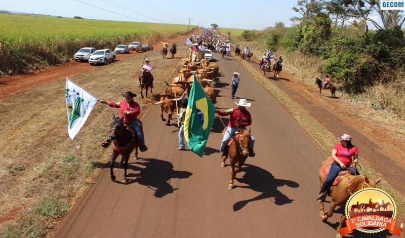 Imagem destaque notícia 2ª CAVALGADA SOLIDÁRIA ABRE PROGRAMAÇÃO DA 17ª FESTA DO PEÃO DE BOIADEIRO
