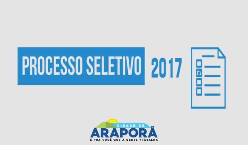Imagem destaque notícia RESULTADO FINAL PROCESSO SELETIVO SIMPLIFICADO Nº 003/17