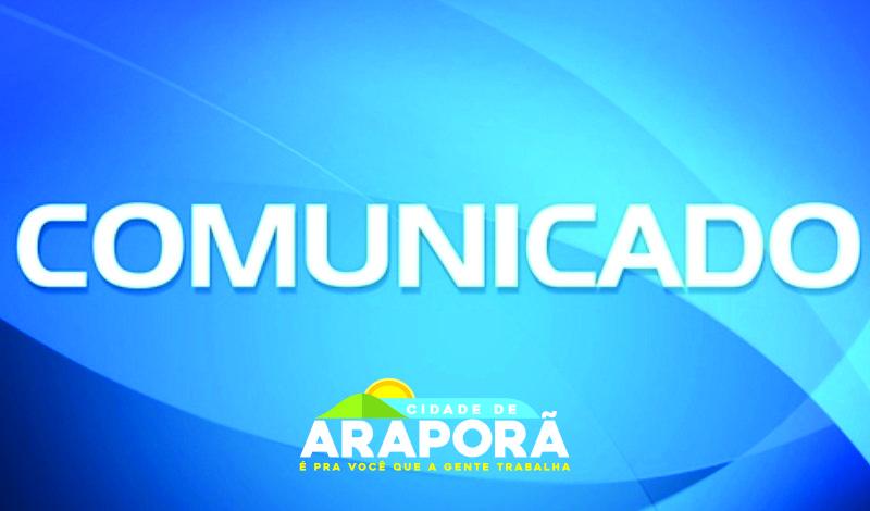 Imagem destaque notícia PREFEITURA DE ARAPORÃ INFORMA SOBRE PARALISAÇÃO NESTA SEXTA (10)