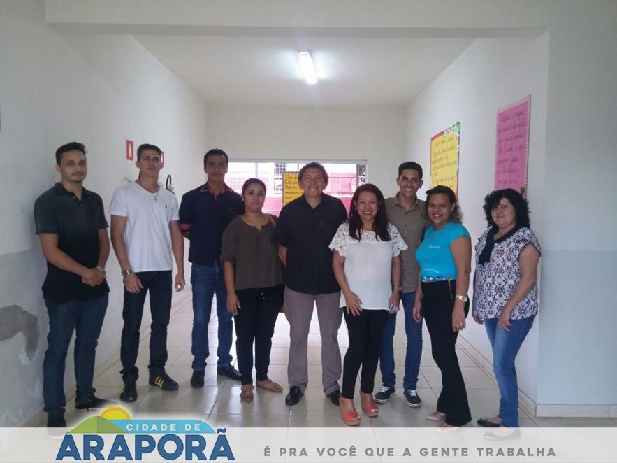 Imagem destaque notícia Vereadores atendem pedido de diretora e visitam Escola Prefeito Wilmar
