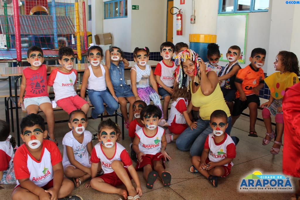 Imagem destaque notícia CEMEI comemora Dia do Circo com atividades lúdicas e recreativas