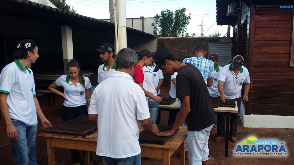Imagem destaque notícia Escola Técnica inicia produção de mudas de hortaliças para doação
