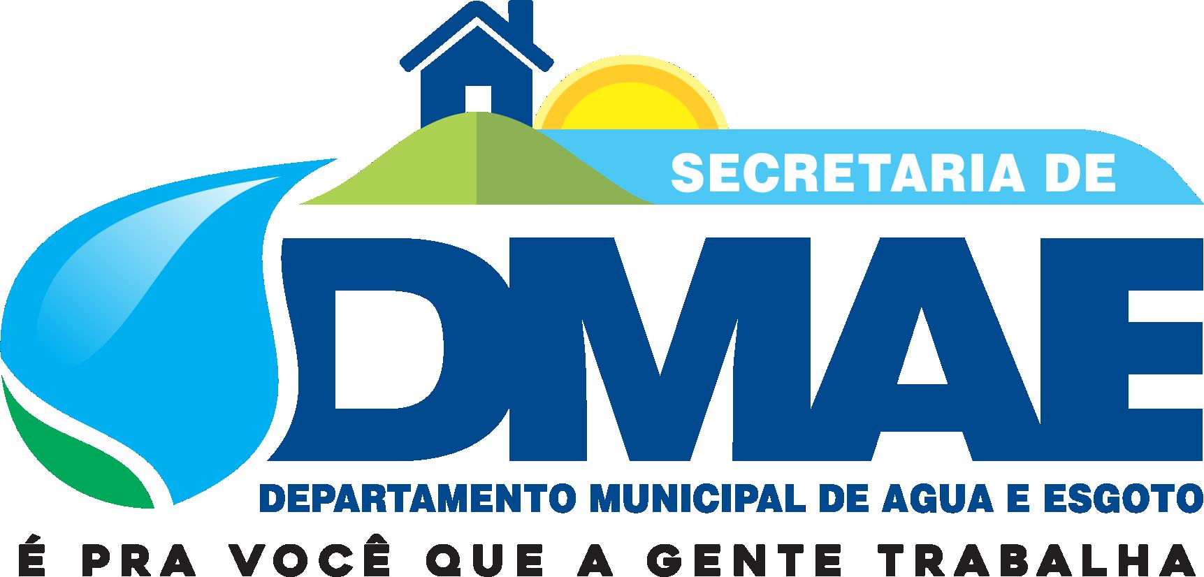 Logo secretaria Departamento Municipal de Água e Esgoto (DMAE)