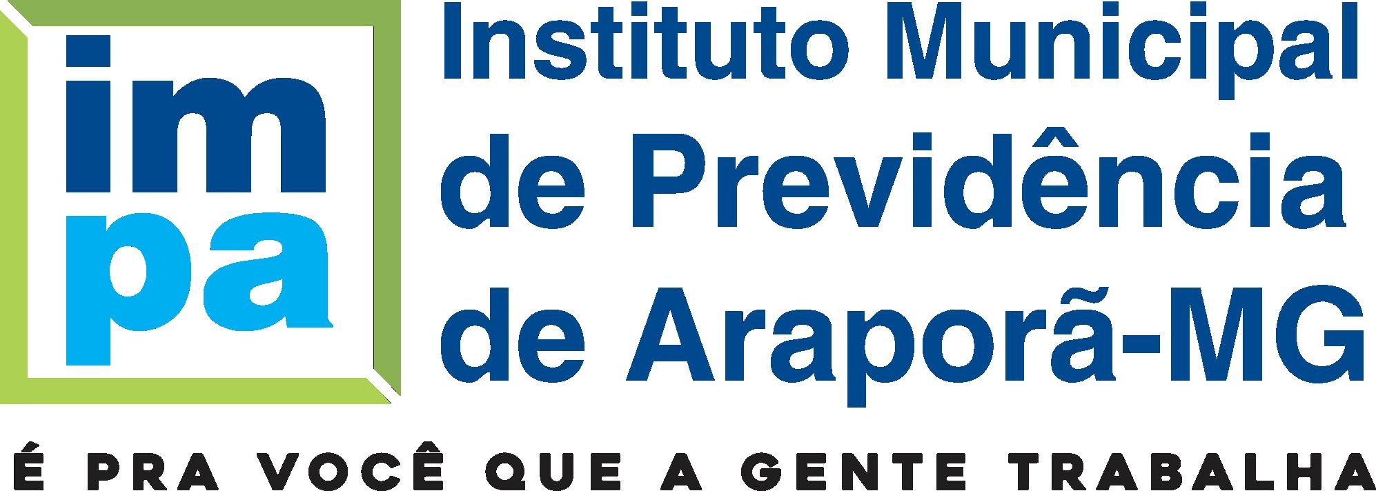 Logo secretaria Instituto Municipal de Previdência de Araporã (IMPA)
