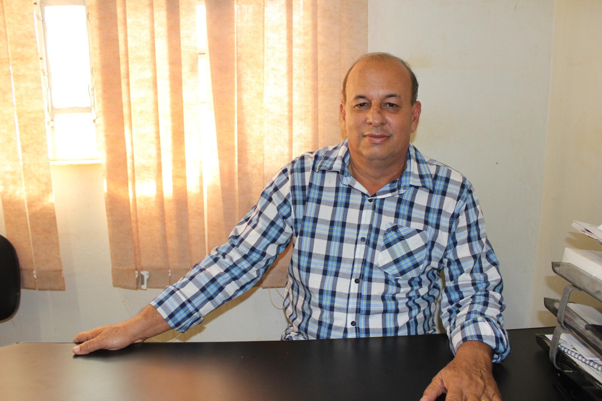 Foto secretário Agropecuária, Abastecimento, Meio Ambiente e Recursos Hídricos