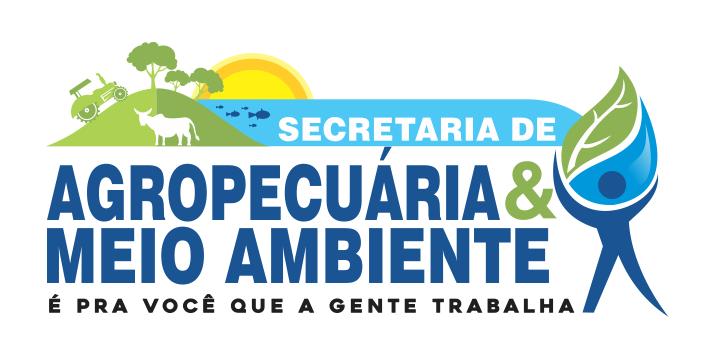 Logotipo Secretaria de agropecuária e meio ambiente
